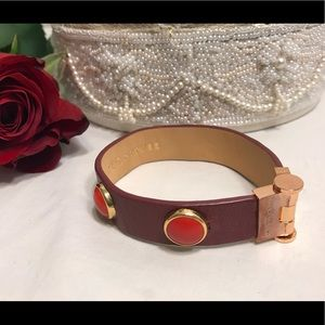 🔆 Juicy Couture women's leather bracelet